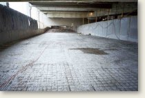 Parking deck prior to new concrete